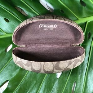 Authentic Coach Sunglass Case